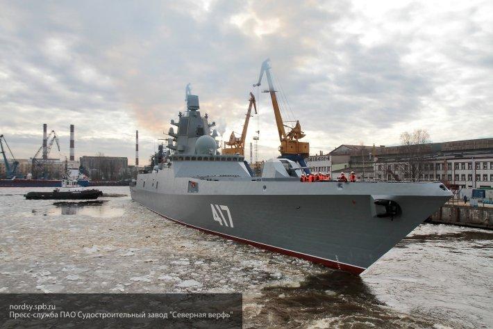 Представитель ВМФ РФ рассказал о сроках принятия на службу новых фрегатов