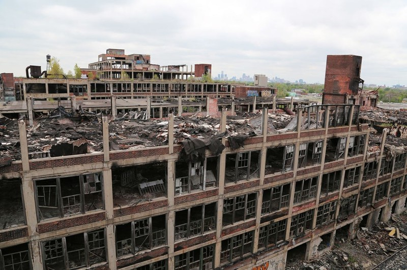7. Детройт город, интересное, история, люди, мир, разрушение, событие, фото