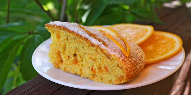 Морковный кекс в мультиваре с курагой и апельсиновой цедрой