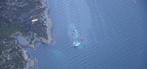 Норвежский фрегат «Хельге Ингстад»: Он таки утонул
