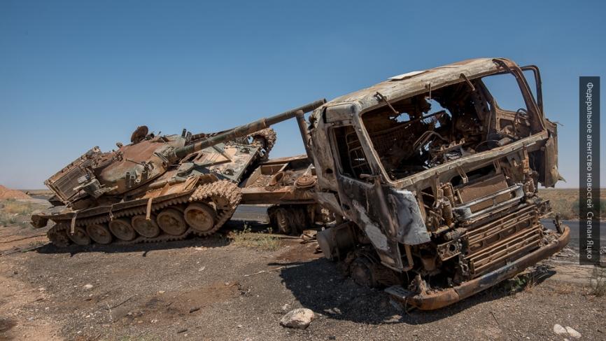СМИ: коалиция нанесла удар по Дейр-эз-Зор, погибли 35 мирных граждан