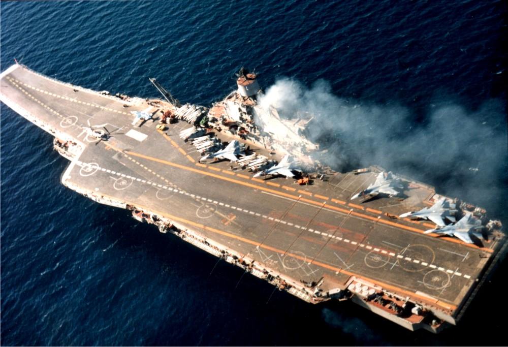 В США совершили ошибку при оценке «Адмирала Кузнецова»