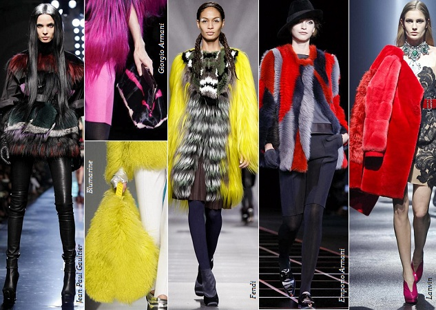 Тенденции моды осень - зима 2012