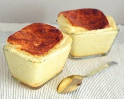 Нежное и вкусное сырное суфле