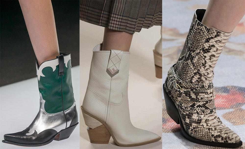 Модные и стильные сапоги из коллекций 2018-2019