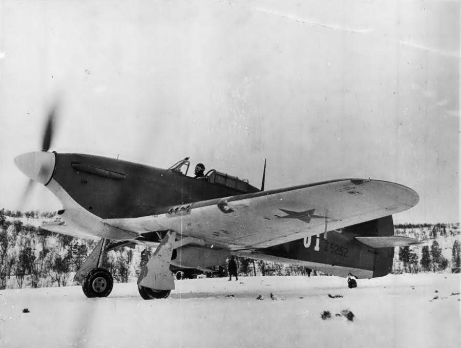 Английские «Ураганы» на защите советского Заполярья