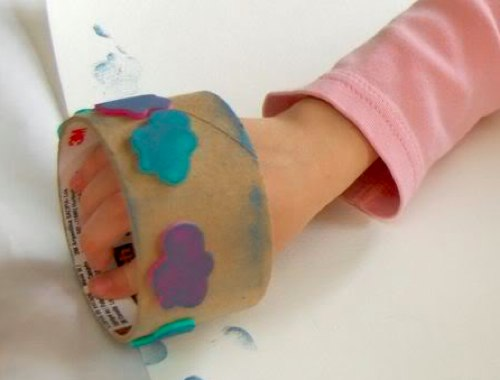 Сделать печать детскую своими руками