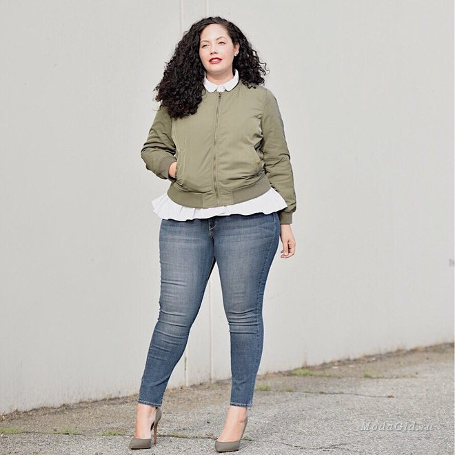 Модная американка plus size Tanesha Awasthi: осенние образы 2017