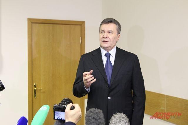 Янукович намерен выступить перед судом по делу о госизмене