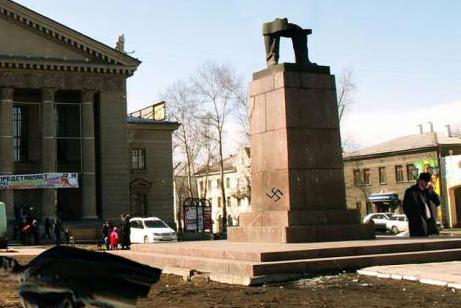 """Донецк - особенности евро-украинских """"праздников"""""""