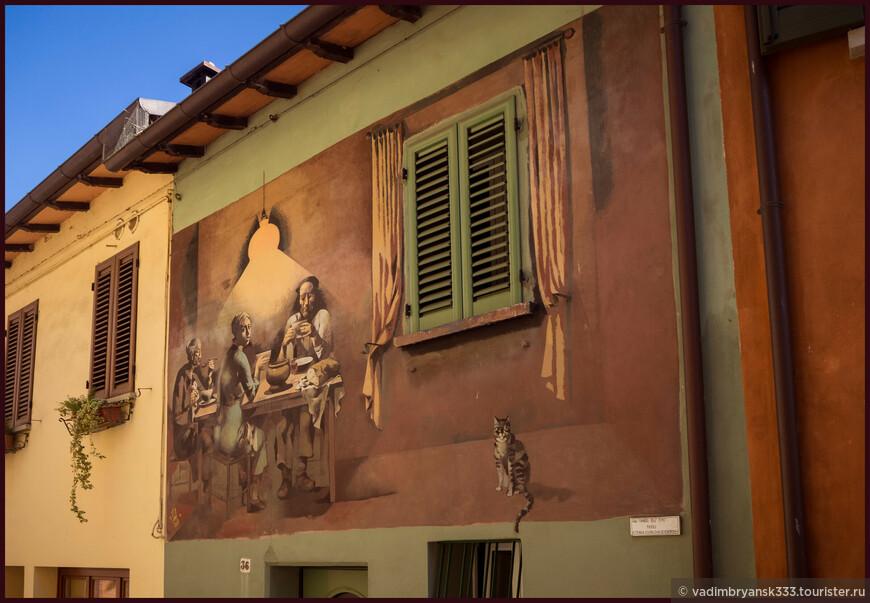 Самые красивые деревни Италии. Бризигелла и Доцца