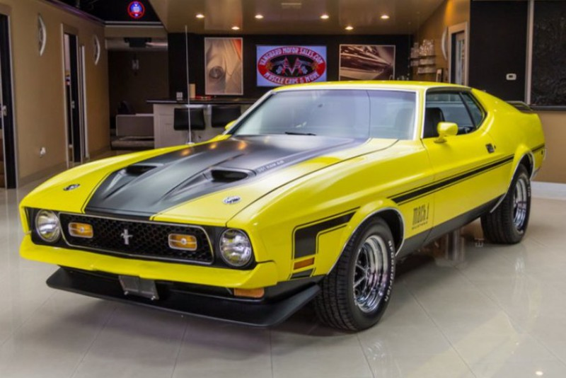 1971 Ford Mustang FORD MUSTANG мустанг, авто