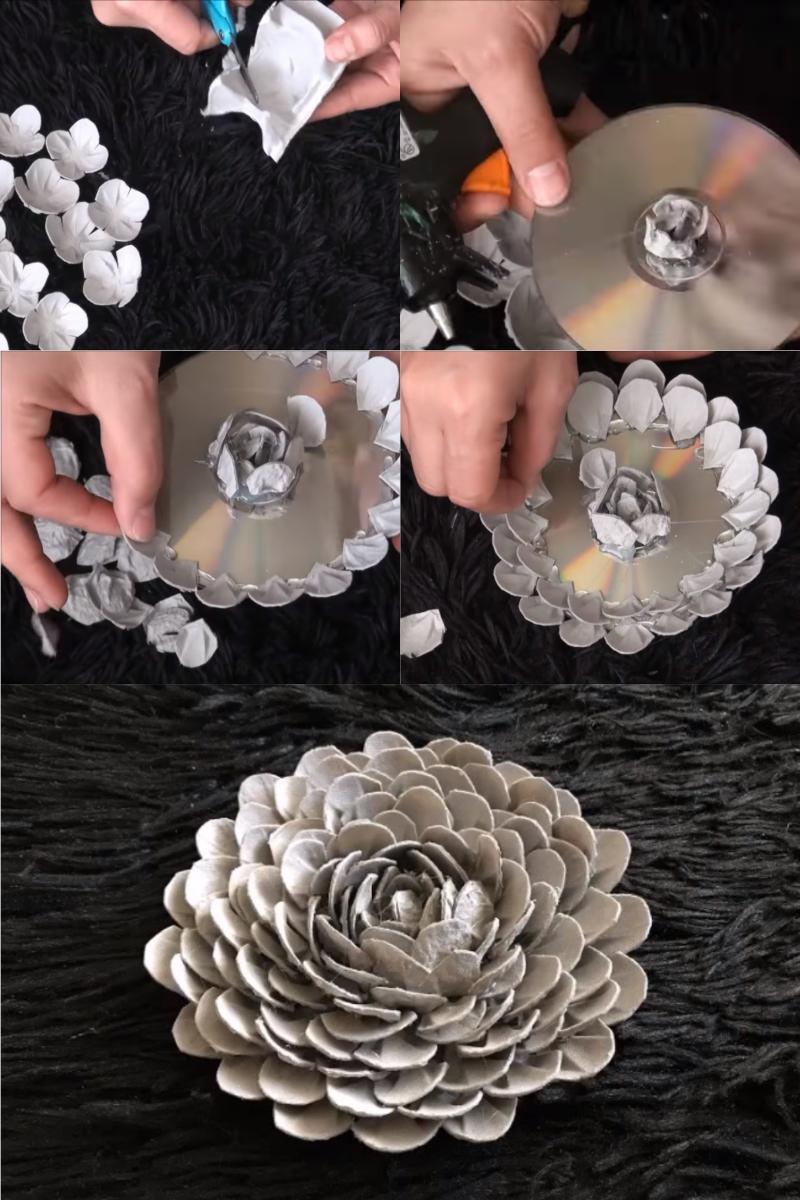декоративные искусственные цветы своими руками
