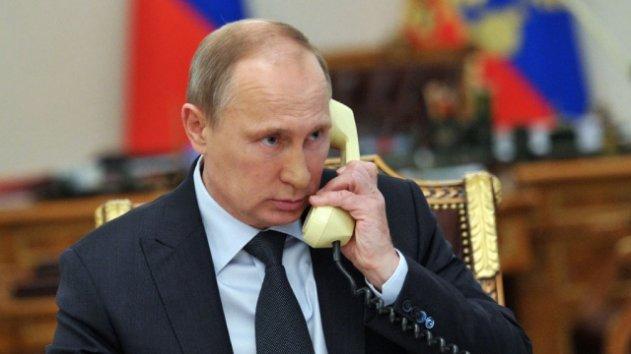 Путин поговорил с Порошенко о Донбассе
