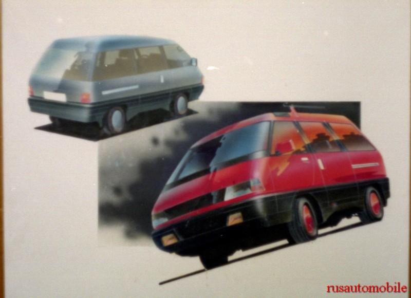 3. ИЖ планировал выпускать и мини-вен авто, история, ссср