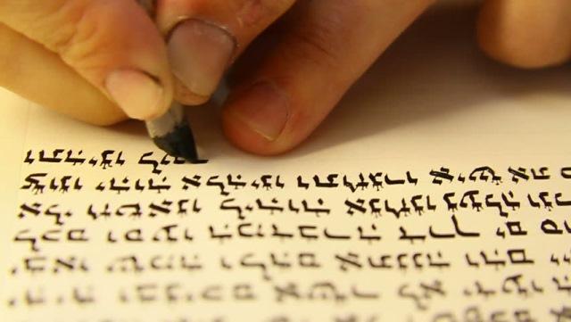 Вот почему евреи и арабы пишут справа налево...
