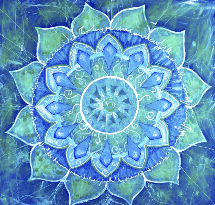 Цветок мантра