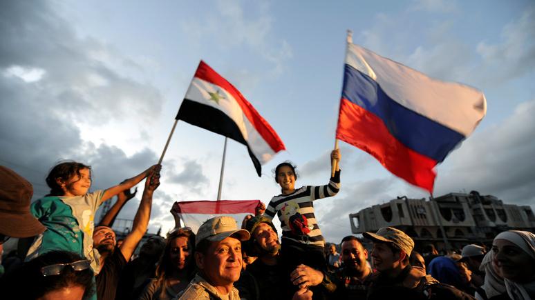 Der Tagesspiegel: «сочинское трио» определит будущее Сирии — и США здесь нечего возразить