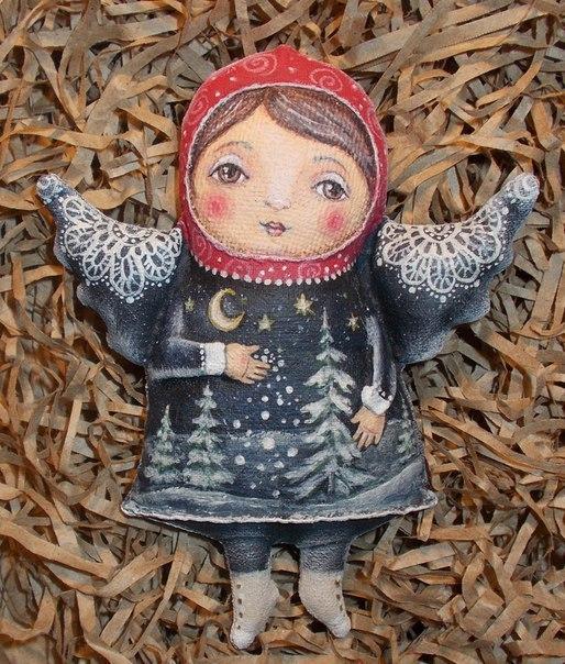 Винтажные куколки Натальи Калиничевой