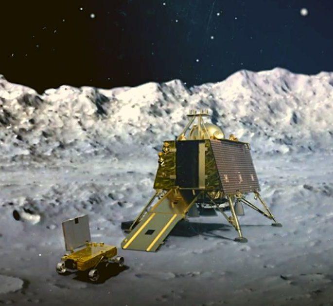 В Индии успешно запустили к Луне миссию «Чандраян-2» (Видео)