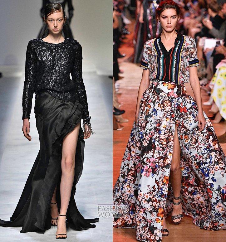 Модные юбки весна-лето 2019 фото №15