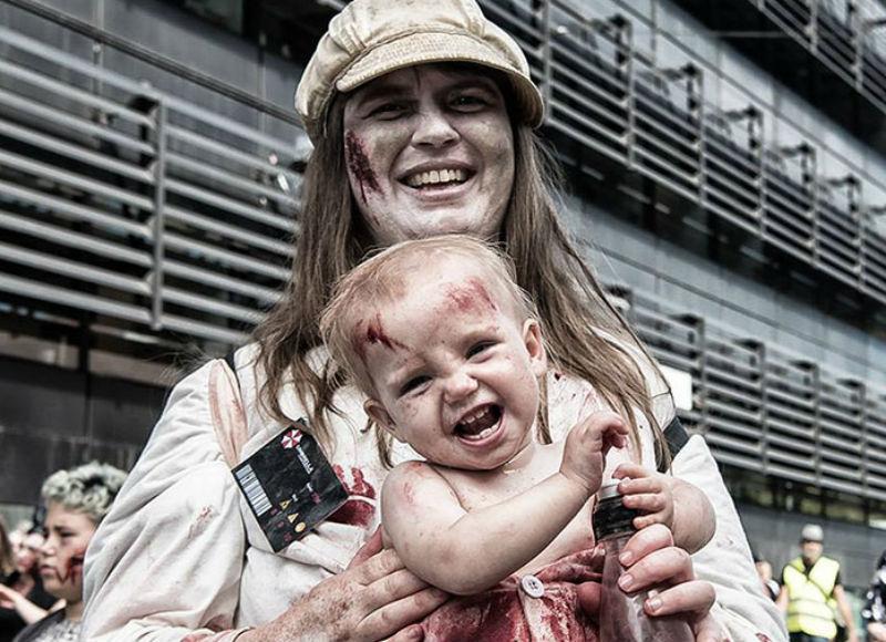 Что делать, если ребенка не с кем оставить на Хэллоуин