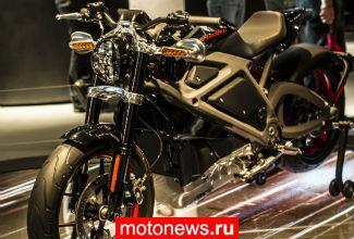 Harley-Davidson на выставке EICMA-2014