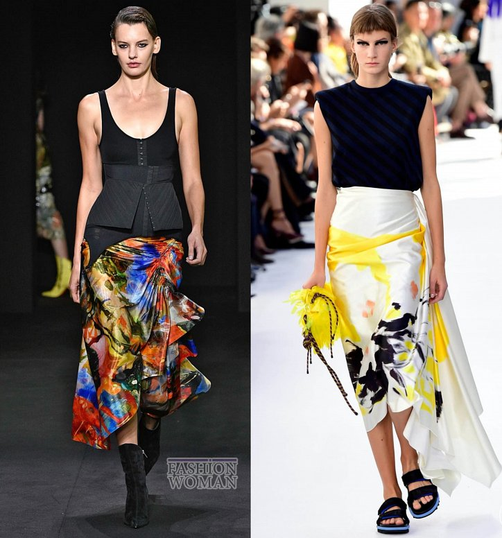 Модные юбки весна-лето 2019 фото №31