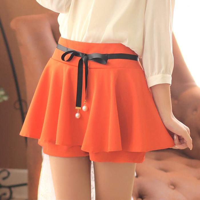 Как сшить юбку шорты?