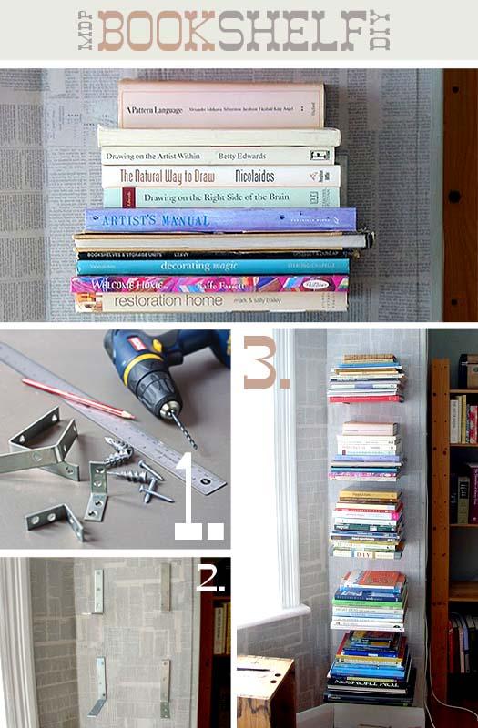 bookshelves 1 25 идей, как сделать книжную полку
