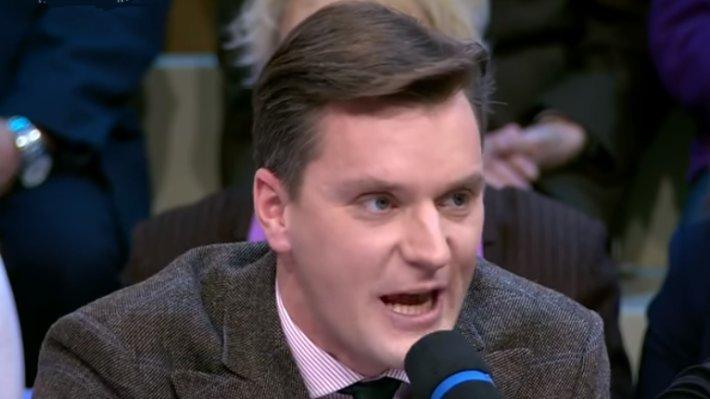 """""""А какого черта вы делаете в России?"""": Соловьёв жёстко """"заткнул рот"""" западным русофобам"""