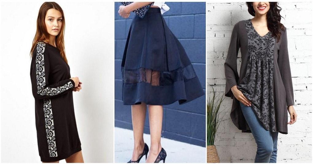 Стильные идеи удлинения и расширения одежды