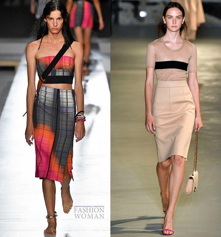 Модные юбки весна-лето 2019 фото №8