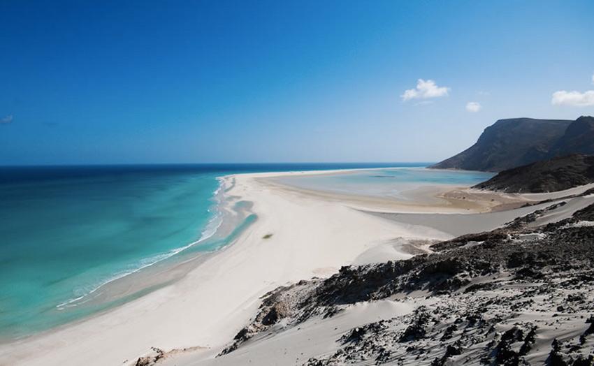 Прогулка по острову с другой планеты
