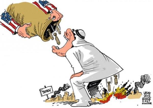 ООН закрывает глаза на Американский геноцид в Йемене