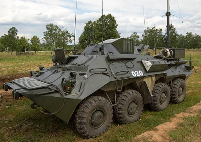 В ЮВО поступили новые унифицированные штабные машины