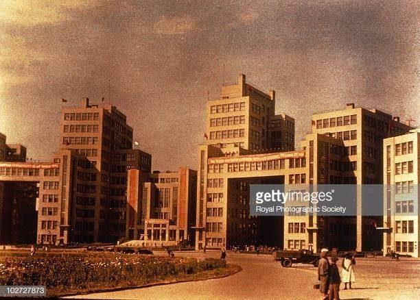 Уникальные цветные фотографии СССР