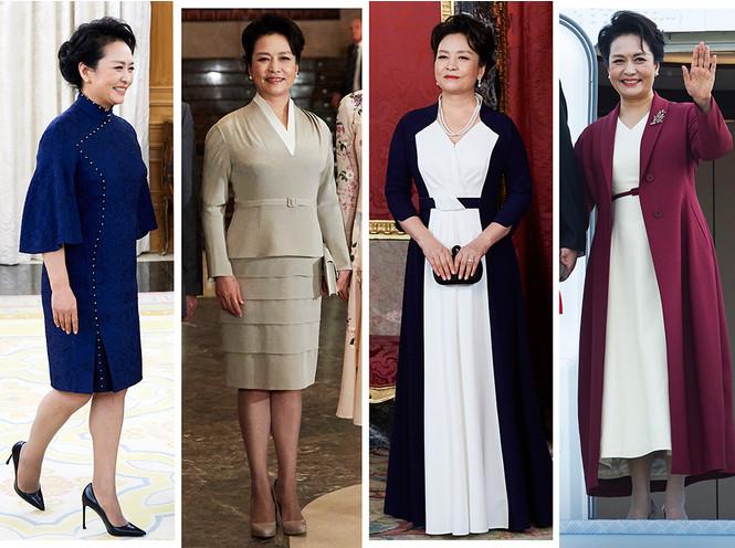 Безупречный стиль Первой леди Китая в Испании