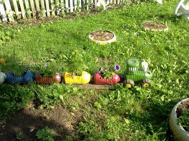 Идеи для огорода своими руками из бутылок 724