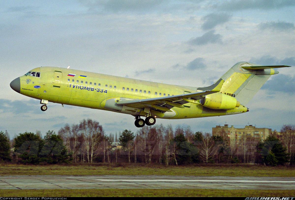 «ЮВТ Аэро» готова закупать новые ближнемагистральные самолеты ТУ-334