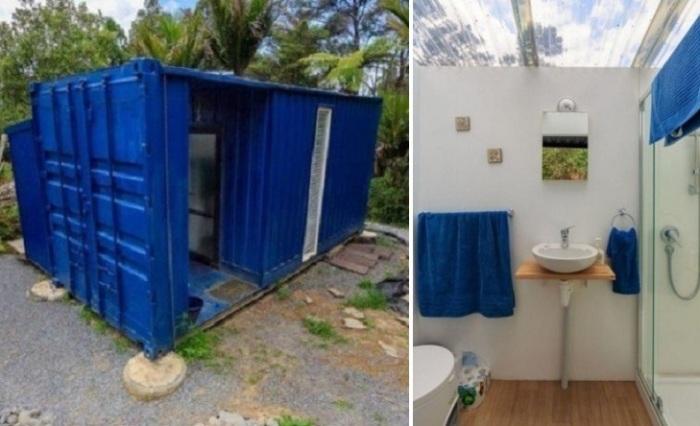 Дачный вариант: Предприимчивая американка смогла создать жилище из контейнера на 10 кв. метрах