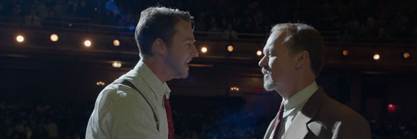 New BIRDMAN Clips and Posters Shine a Light On Michael Keaton's Battle Against Edward Norton