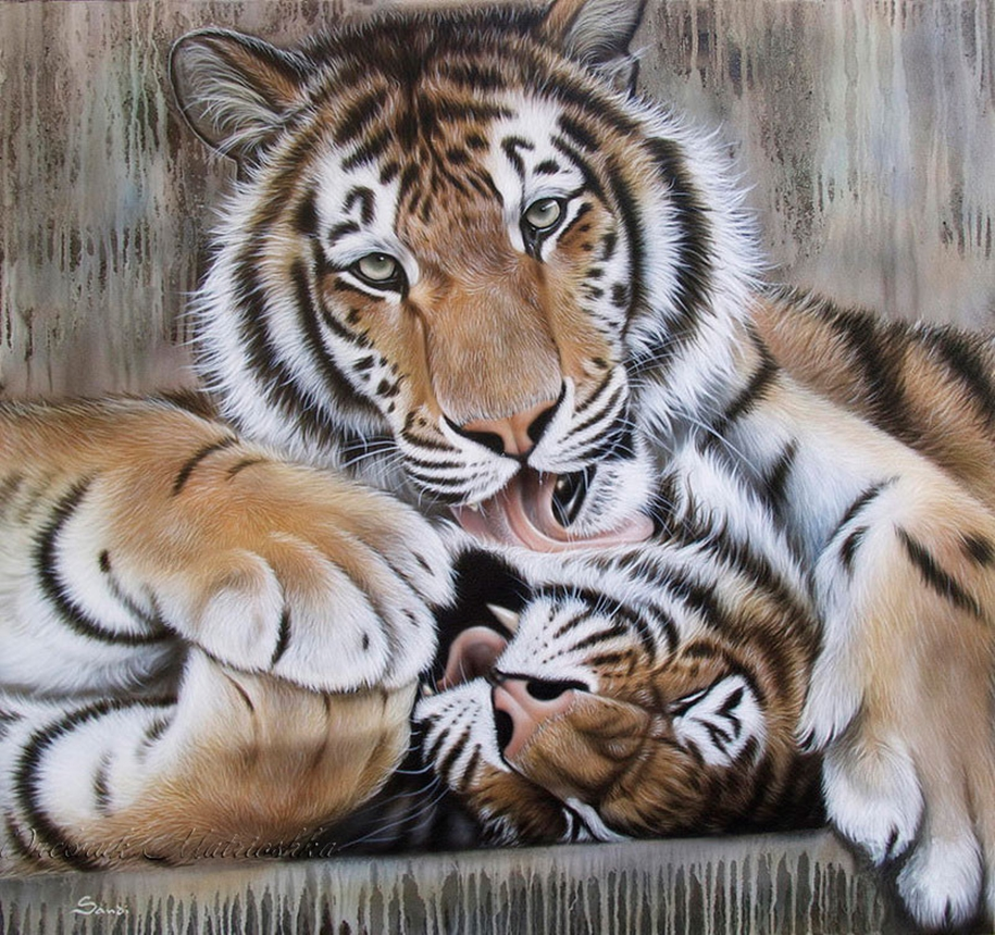 Awesome realistic drawings of animals 25