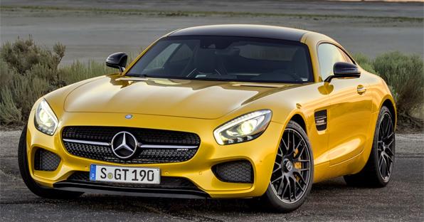 Mercedes-Benz объявил цены на спорткар AMG GT