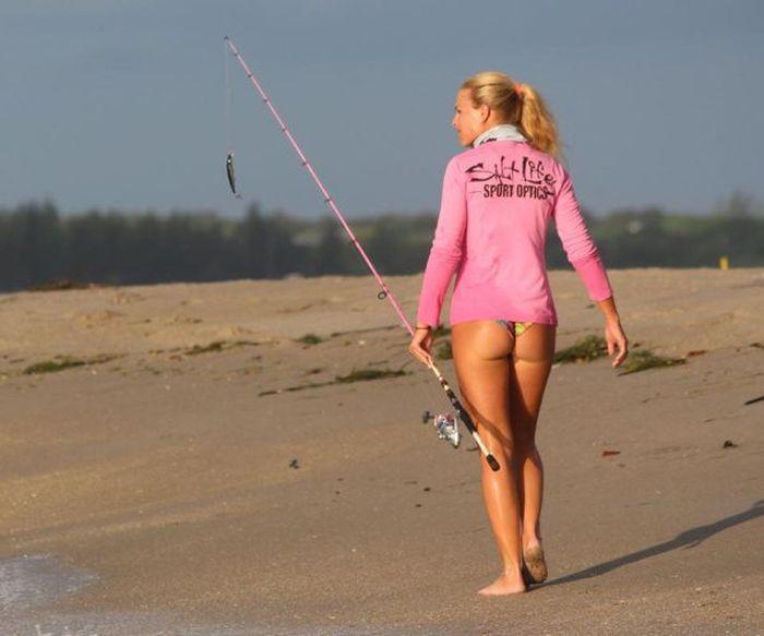 Обворожительные девушки-рыбачки девушки, рыбалка, фото