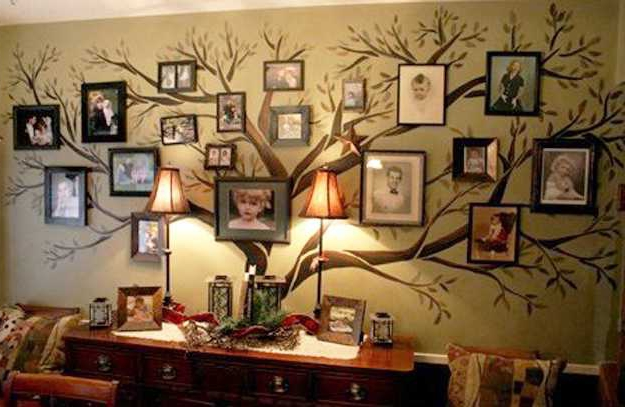 Фото генеалогическое древо своими руками