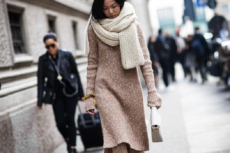 Какие платья носить осенью