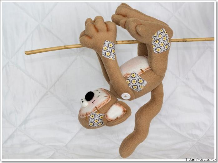 Сшить текстильную обезьянку своими руками
