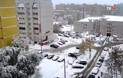Тысячи жителей Воронежа остались без света из-за мощного снегопада