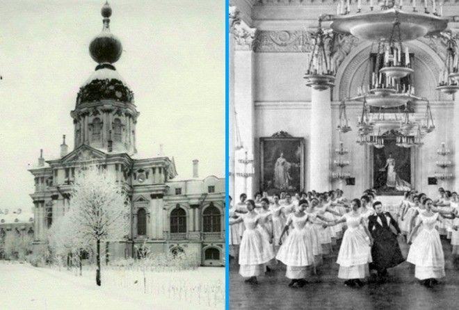 ФОТОГРАФИИ СМОЛЬНОГО ИНСТИТУ…